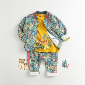 马克珍妮女童森林游乐园卫衣套装