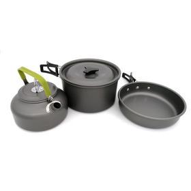【茶壶套锅组合】 柏布马 进口  2-3人套锅加茶壶 不含餐具 高级硬质氧化铝