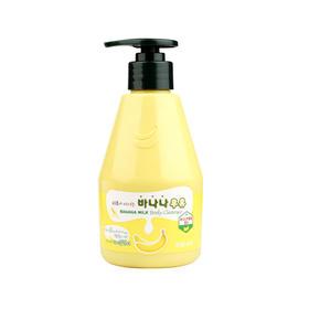 韩国水果之乡KWAILNARA香蕉牛奶沐浴露310g
