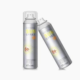 水晶防晒喷雾 | 12小时长效防晒,连获两年亚洲防晒美容奖