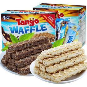 奥朗探戈咔咔脆威化饼干160g