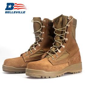【海军陆战队专用】美国Belleville钢头沙漠靴作战靴(550ST)