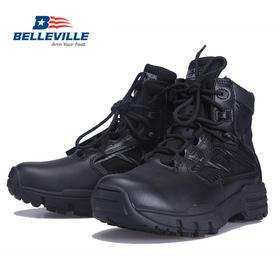 【美国老牌军靴Belleville】6寸低帮侧拉链战术靴(TR916Z)
