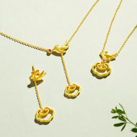 故宫文创珠宝·燕子系列首饰│宫里飞出来的吉祥双燕,许你一生明媚春光