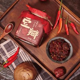 先市豆瓣酱:126年古法酿造,咸香鲜辣,还原地道川味。