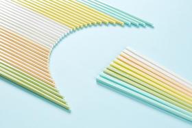 【谷的家|家用玉米筷(混色5双装)植物制造 可降解 易清洗 健康环保 高颜值  】