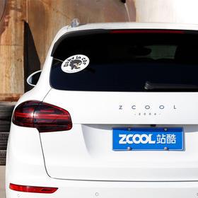 【小Z福利社】站酷小Z - 车贴(Baby in car 、不是跟你闹着玩的)
