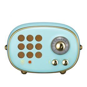 猫王收音机 radiooo积木式收音机便携蓝牙音箱蓝牙音响 波普(蓝)