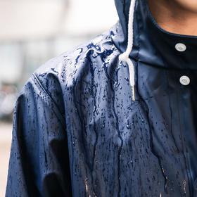 【风雨无阻超强防水】  环保PU无缝防水雨衣夹克
