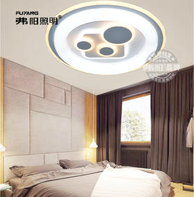 弗阳照明【新品上市】301/302/303圆 直径55厘米 三控变光 现代简约 卧室灯 餐厅灯
