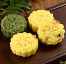【买3送1】台湾名小吃 绿豆流心糕 桂花流心糕 210克
