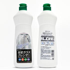 【轻松一抹 焕然一新】日本进口浴室厕所玻璃清洁剂400g除水垢瓷砖清洗剂 去污除菌不伤手