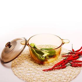 康宁锅:通透性强,易清洗不残留、不与酸碱反应更健康。
