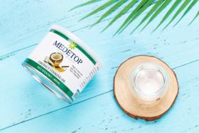 美之岛MEDETOP 马来西亚原装进口椰子油1瓶装 400ml