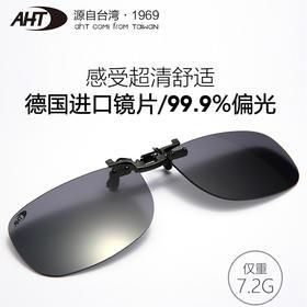 【超轻高透光】德国进口镜片99.99%偏光墨镜夹片
