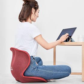 快递正常发货!乐范护腰塑形坐垫,坐姿矫正、护腰塑臀、3D立体包裹、形体支撑,覆盖腰背穴位,坐着也能养生