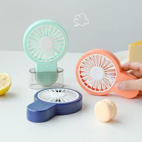 【糖果味的夏天】egogo小巧大风力手持迷你风扇充电便携式糖果风扇