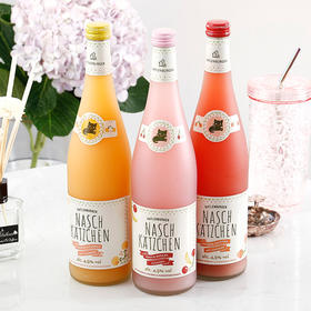 [微起泡果酒]冰淇淋口感 奈斯猫优格酒  草莓/樱桃/蜜桃 三种口味 750ml/瓶