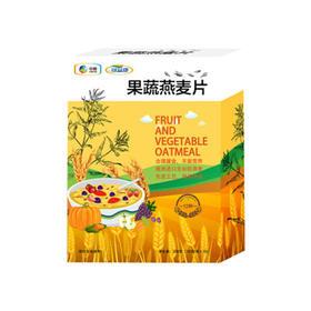 中粮可益康果蔬燕麦片(12种食物营养)350g/盒