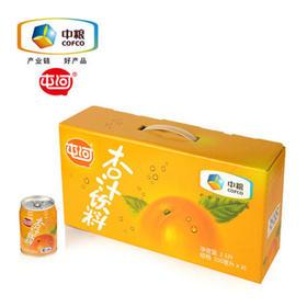 中粮屯河果汁饮料果蔬汁杏汁礼盒