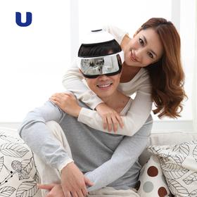 倍轻松(breo)头部按摩器iDream3    头眼相结合按摩 恒温热敷技术  舒适无线遥控设计  多频振动技术