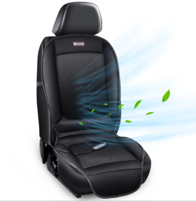 COMFIER车载通风加热二合一坐垫 专利立体通风散热 夏季开车不湿热
