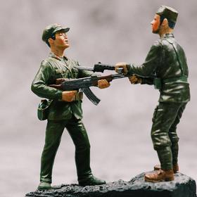 【中印边境对峙】中国军仕模型003号限量版