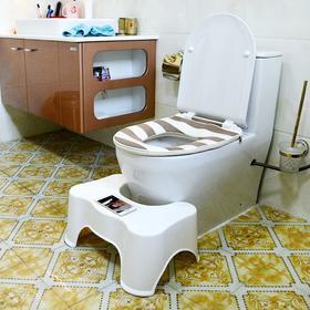 月销量20000!马桶垫脚凳(大号)!上厕所更加放松,腿部不再麻,还能解放双手轻松看视频!