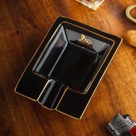LUBINSKI 雪茄烟灰缸 陶瓷小巧便携