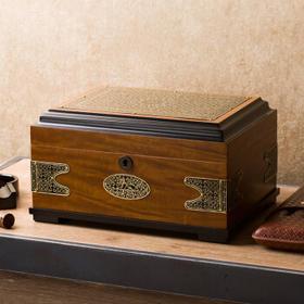 LUBINSKI 雪茄盒 复古花纹保湿醇化 花纹