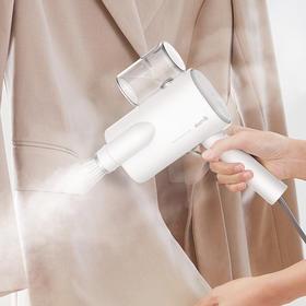 德尔玛DEERMA 手持式家用蒸汽便携式小型挂熨烫挂烫机HS006