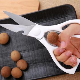 【厨房全能多用剪】日本进口多功能厨房剪刀 锋利防滑