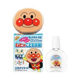 【临期清仓】日本池田模范堂 面包超人款儿童宝宝专用滴眼液