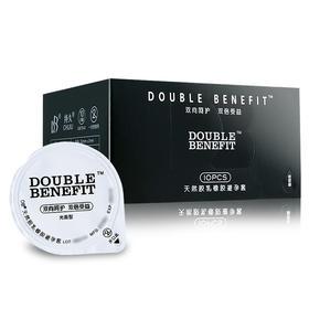 DOUBLE BENEFIT 玻尿酸避孕套 10只