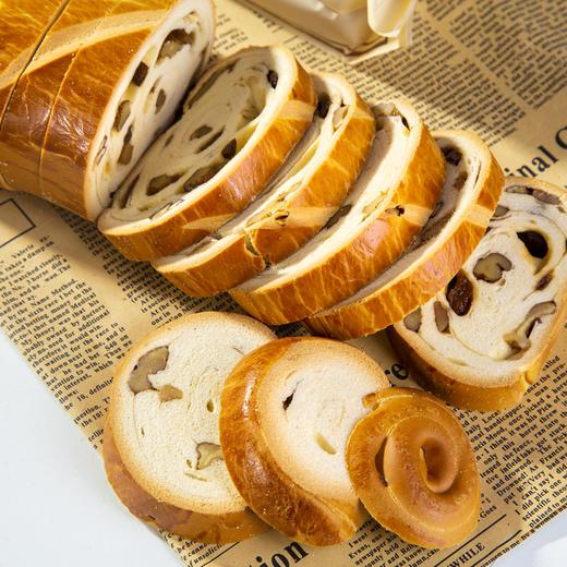 【半岛商城】俄罗斯果仁列巴470g*2条 列巴面包代餐 推荐核桃仁葡萄干 精选品质 商品图2