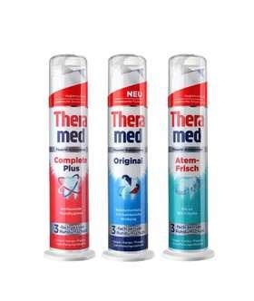 泰瑞美(Theramed) 德国进口汉高牙膏站立式牙膏100ML
