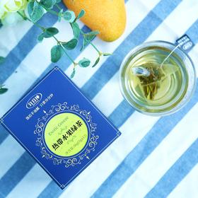 德国水果茶 分分钟热带水果绿茶 茶叶 袋泡茶 12袋