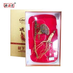 东北三宝金卡礼盒(人参灵芝草苁蓉)初级农产品