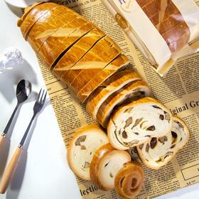 【半岛商城】俄罗斯果仁列巴470g*2条 列巴面包代餐 推荐核桃仁葡萄干 精选品质
