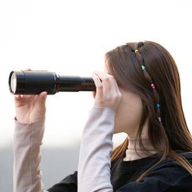 【德国血统】12X50金属拉伸式单筒望远镜