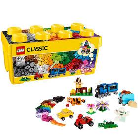 【六一儿童节礼物】乐高积木玩具 经典创意系列 10696 中号积木盒 LEGO 儿童拼装玩具 10696