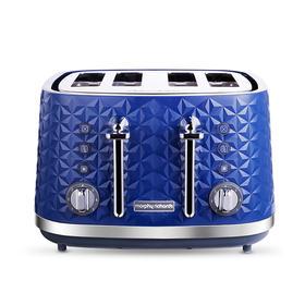 摩飞电器( Morphyrichards )MR8105烤面包机多功能多士炉家用4片营养早餐机