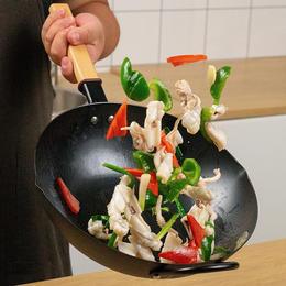 悦味铁锅 大容量、超轻便,不易粘锅、不易生锈