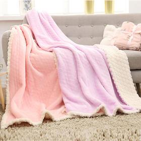 【清仓特价 不退不换】MML6612W新款法兰绒毛毯TZF