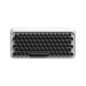洛斐DOT圆点蓝牙机械键盘 兼容4大平台 3部设备一键切换的工作神器