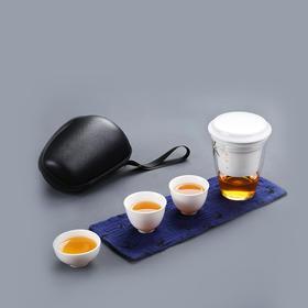 随手泡便携旅行茶具套装 旅行茶具快客杯一壶三杯
