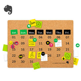 Evernote | Action! Calendar 印象笔记行动历套装