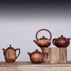 四大名山紫砂壶