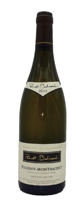 【上半场限量】No.1 佩尔诺·贝利卡德酒庄(普里尼-蒙哈榭村)干白葡萄酒Domaine Philippe Pernot-Belicard Puligny-Montrachet 2015