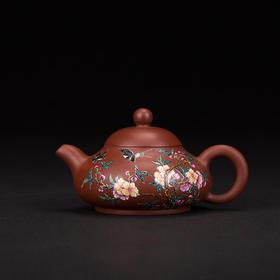 阳士琦·紫砂壶四季花鸟之春